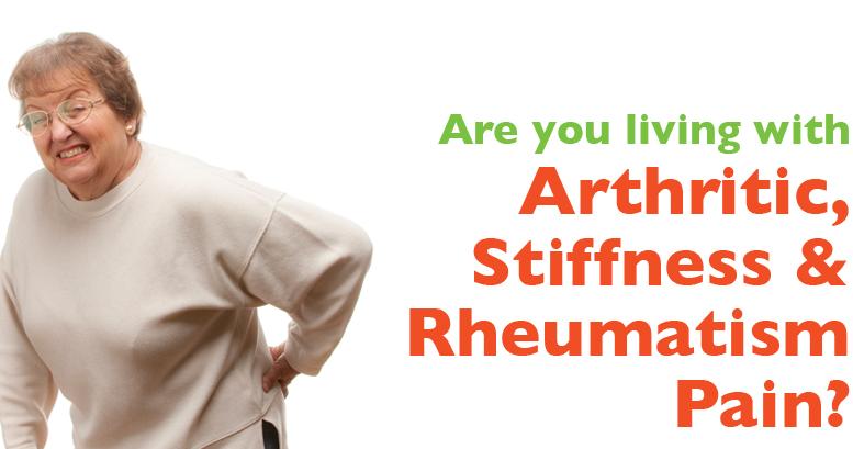 Arthritic, Stiffness & Rheumatism Pain